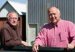 Rom and Ray Williams of Williams Hudson Bay Farm