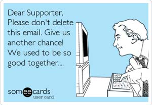 Nonprofit email appeal