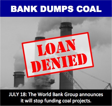 Bank dumps coal loan denied