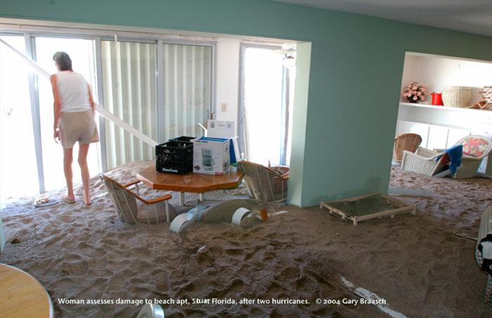 hurricane victim house florida gary braasch