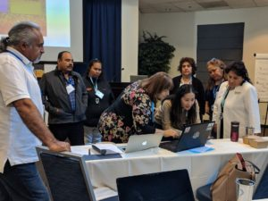 Grassroots Convening participants practice crafting resonant messages for the 2020 elections
